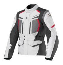 Motoros kabát, CLOVER Storm-2 WP, szürke-fekete