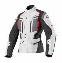 Női motoros kabát, CLOVER Storm-2 WP Lady, szürke-fekete