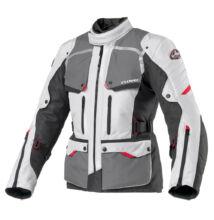 CLOVER motoros kabát, Savana-2 WP szürke-fekete