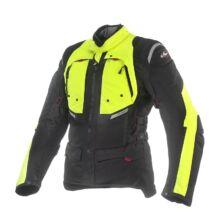 CLOVER GTS-3 WP Airbag motoros kabát sárga-fekete