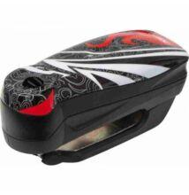 """ABUS 7000 RS1 Detecto riasztós féktárcsazár """"Flame Black"""" fekete"""