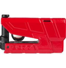 ABUS 8077 Detecto X Plus riasztós féktárcsazár piros