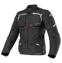 Motoros kabát, CLOVER Savana-2 WP, fekete