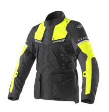 Motoros kabát, CLOVER Scout-3 WP, fekete-sárga