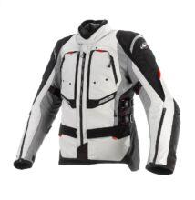 Textil motoros kabát, CLOVER GTS-3 WP Airbag, szürke-fekete