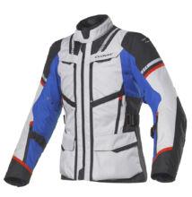 Motoros kabát, CLOVER Savana-3, szürke-kék