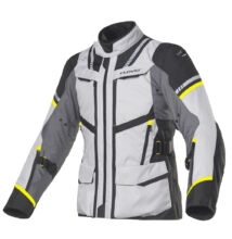 CLOVER motoros kabát, Savana-3, szürke-sárga