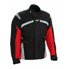 CLOVER Boston motoros kabát piros-fekete