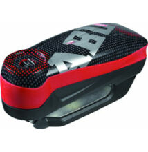 """ABUS 7000 RS1 Detecto riasztós féktárcsazár """"Pixel Red"""" piros"""