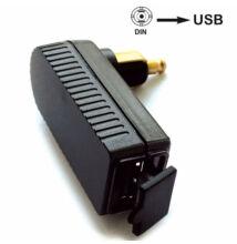 USB töltő aljzat motorra, BAAS USB4 mini