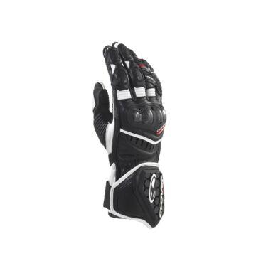 CLOVER RS-9 kesztyű fekete-fehér