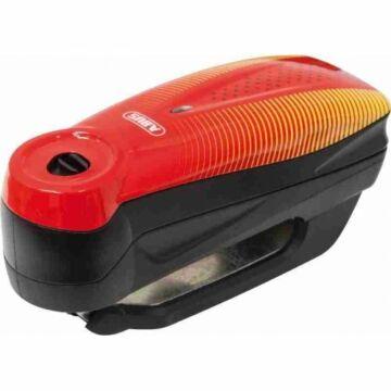 """ABUS 7000 RS1 Detecto riasztós féktárcsazár """"Sonic Red"""" piros"""