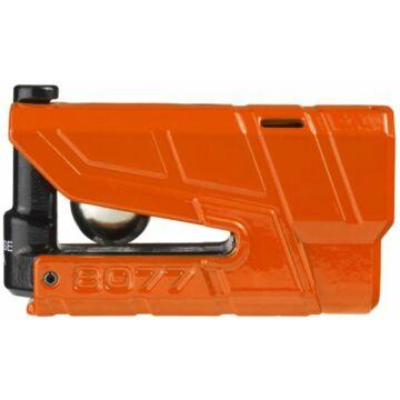 Riasztós féktárcsazár, ABUS 8077 Detecto X Plus, narancs