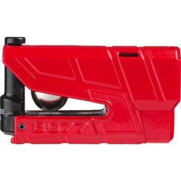 Riasztós féktárcsazár, ABUS 8077 Detecto X Plus, piros