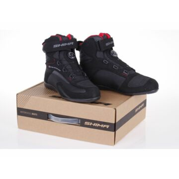 Női motoros cipő, SHIMA EXO VENTED Lady, fekete