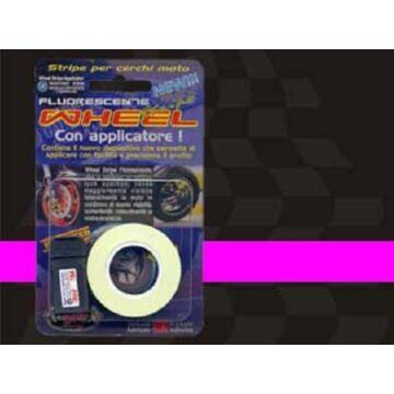 Matrica QUATTROERRE fluoreszkálós felnicsík pink (fuxia)