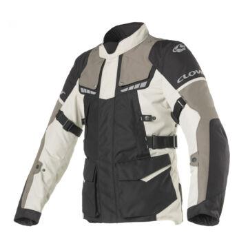Motoros kabát, CLOVER Scout-3 WP, szürke-fekete