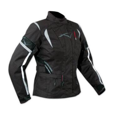 Motoros kabát, A-PRO Traveller Lady, fekete
