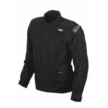Motoros kabát, CLOVER Boston, fekete