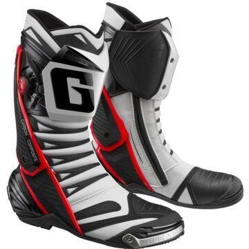 GAERNE GP1 EVO sportmotoros csizma piros/fehér