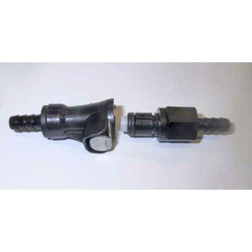 Benzincső gyorscsatlakozó 6mm