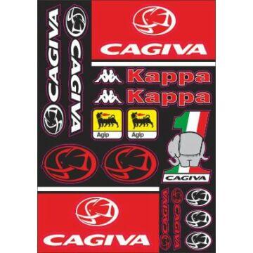 Matrica szett CAGIVA 01