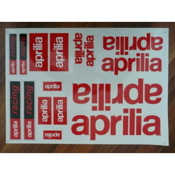 Matrica szett APRILIA 04