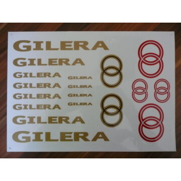 Matrica szett GILERA 02