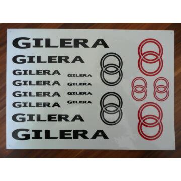 Matrica szett GILERA 03
