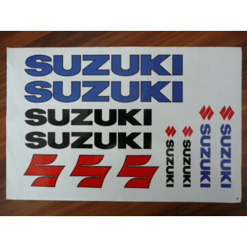 Matrica szett SUZUKI 06