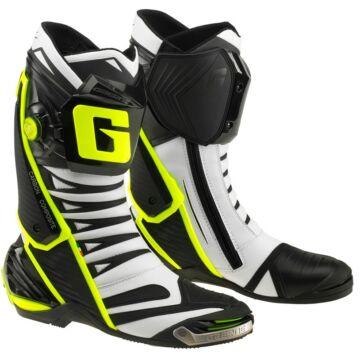 sportmotoros csizma, GAERNE GP1 EVO fehér/fluo