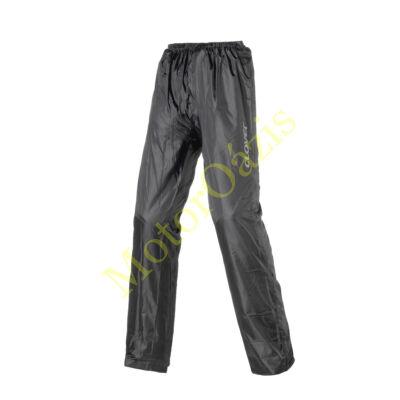 CLOVER Wet-Pro fekete motoros esőruha (esőnadrág)