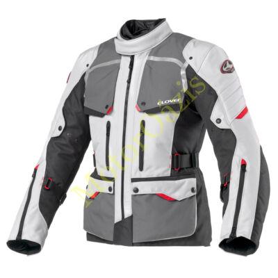 CLOVER Savana-2 WP motoros kabát szürke-fekete