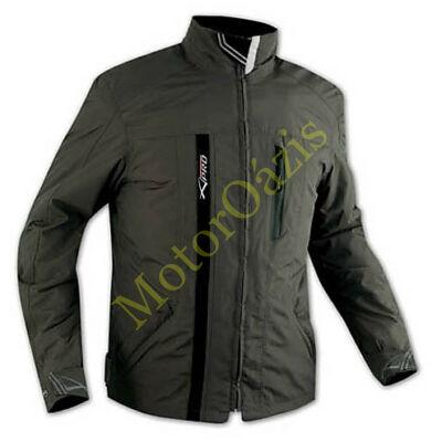 A-PRO Empire motoros kabát olaj zöld