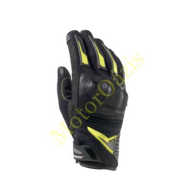 CLOVER Raptor Plus nyári motoroskesztyű fekete-sárga