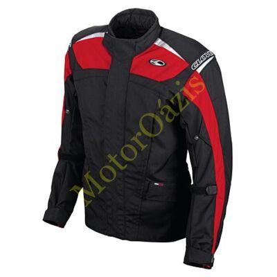 CLOVER Kentucky motoros kabát piros-fekete