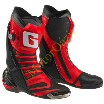 GAERNE GP1 EVO sport motoros csizma piros