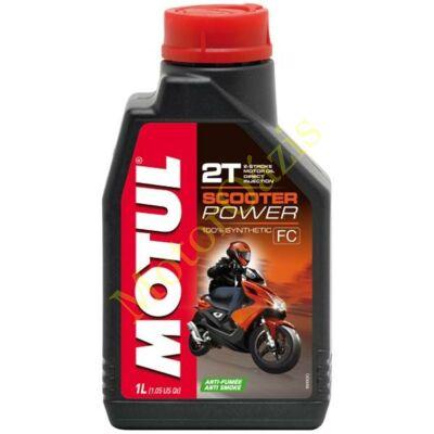 MOTUL 2T Scooter Power 2 ütemű robogó olaj 1L