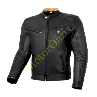 SHIMA WINCHESTER motoros bőrkabát fekete