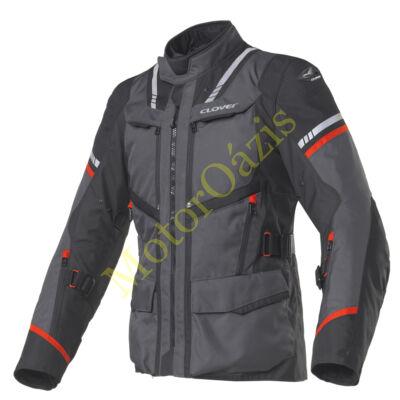 Motoros kabát, CLOVER Savana-3, sötét szürke