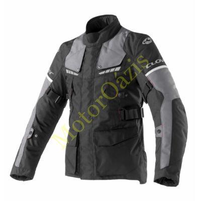 Motoros kabát, CLOVER Scout-3 WP, fekete