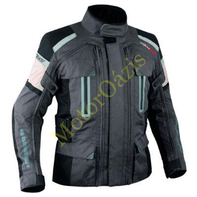 Textil motoros kabát, Turatek 4in1 sötétszürke