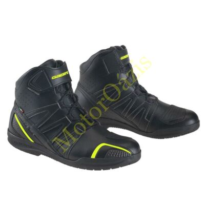 GAERNE Asphalt Drytech motoros cipő, fekete