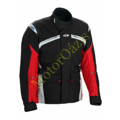 Motoros kabát, CLOVER Boston, fekete-piros