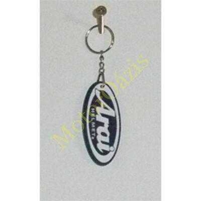 Kulcstartó arai logo