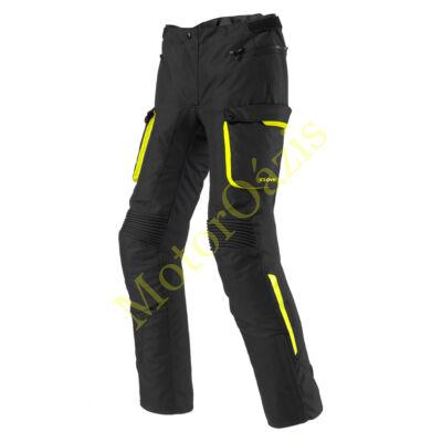 Motoros nadrág, CLOVER Scout-2 Lady (női), fekete-sárga