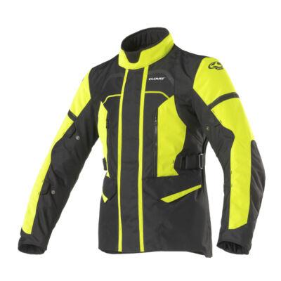 CLOVER Storm-3 motoros kabát, sárga-fekete