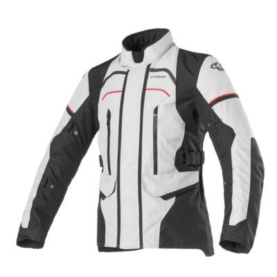Motoros kabát, CLOVER Storm-3, szürke-fekete