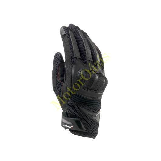 CLOVER Raptor Plus nyári motoros kesztyű fekete