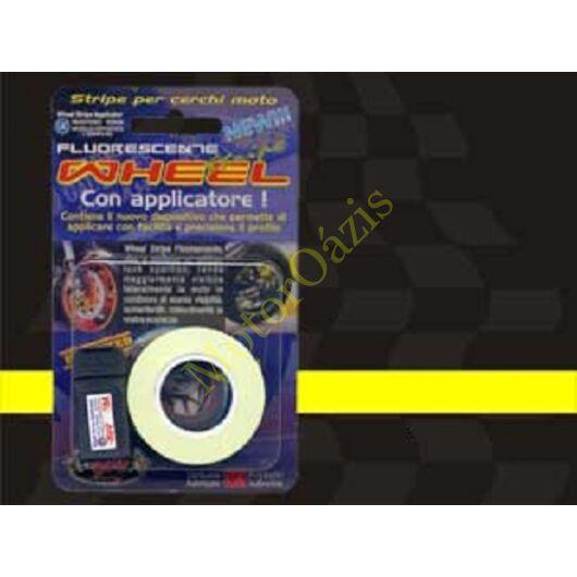Matrica QUATTROERRE fényvisszaverő felnicsík sárga